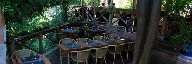 Café terrasse waterloo