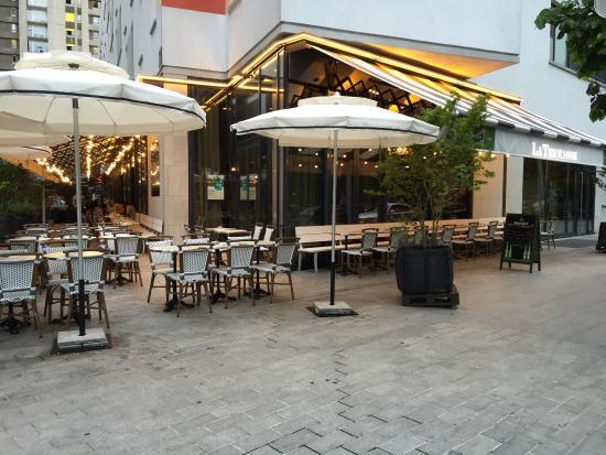Brasserie terrasse boulogne billancourt