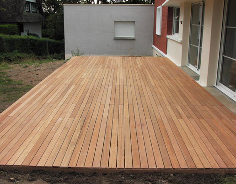 terrasse bois exterieur jardin. Black Bedroom Furniture Sets. Home Design Ideas