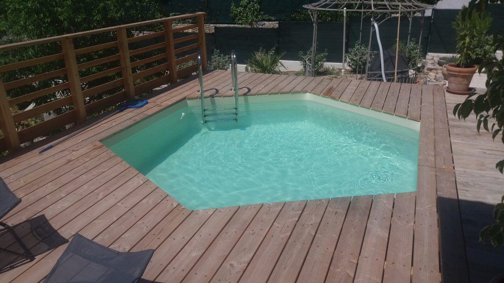 Plan terrasse bois piscine hors sol