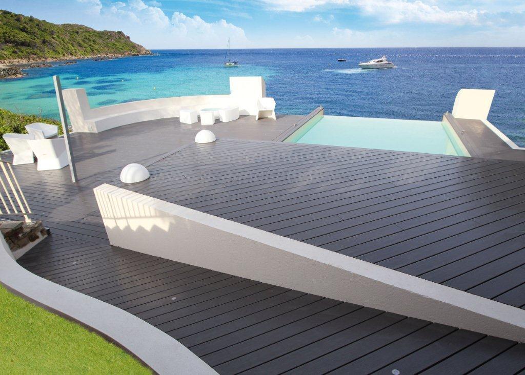 Quelle terrasse autour piscine