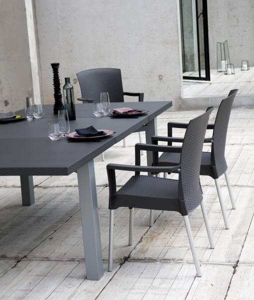 salon de jardin plastique oogarden jardin. Black Bedroom Furniture Sets. Home Design Ideas
