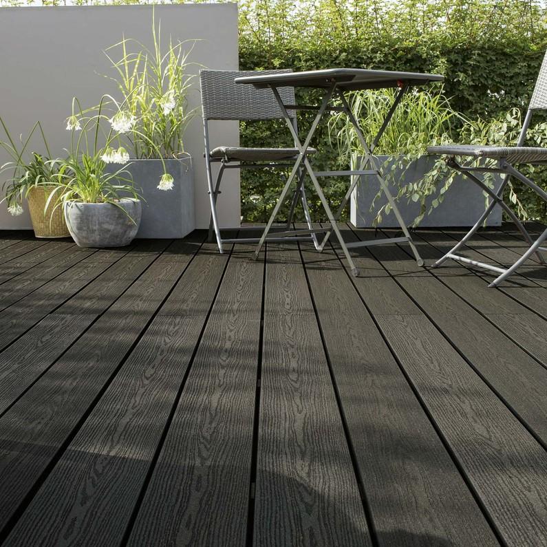 Terrasse composite gris anthracite leroy merlin