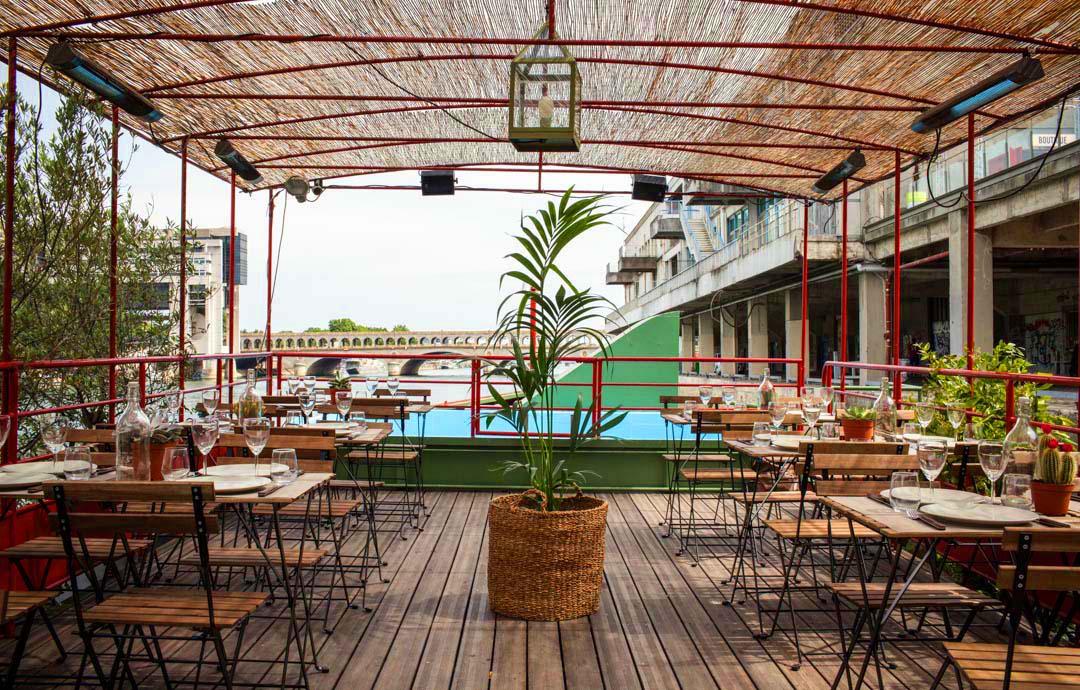 Terrasse paris 10 restaurant