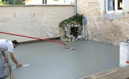 Terrasse beton rennes