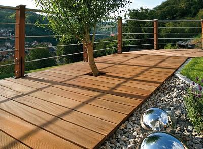 Terrasse beton imitation bois prix