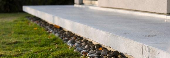 Terrasse welcher beton
