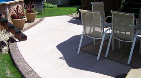 Terrasse beton prix m3