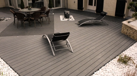 Terrasse composite cout