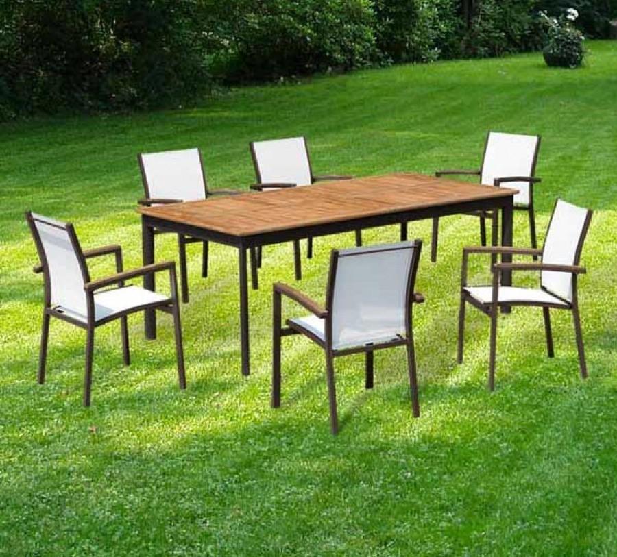 Stunning Table De Jardin Aluminium Mr Bricolage Gallery ...