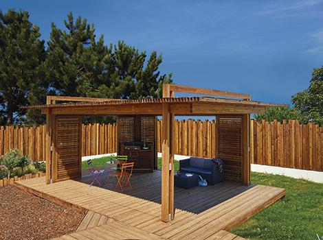 Terrasse bois traduction anglais