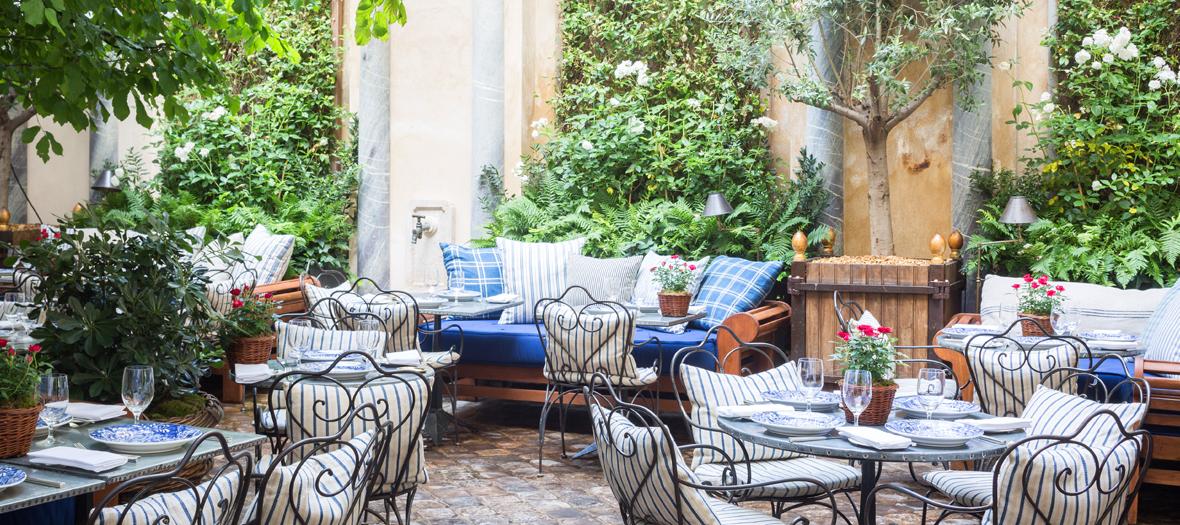 Bar avec terrasse cachée paris