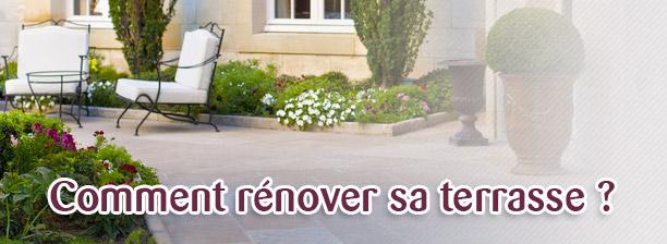 Renovation terrasse carrelée