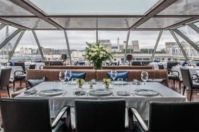 Restaurant terrasse avec vue paris