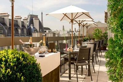 Terrasse paris restaurant gastronomique