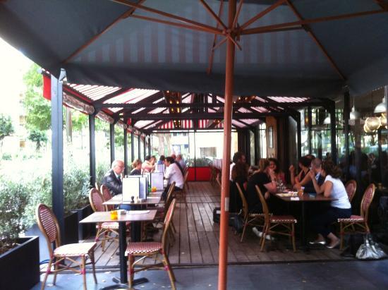 Restaurant avec terrasse a boulogne billancourt