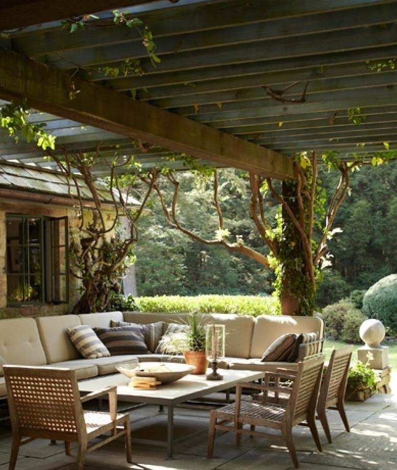 Terrasse Couverte Pinterest Maillerayefr Jardin