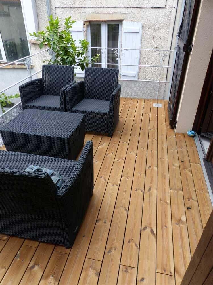 Terrasse le balcon