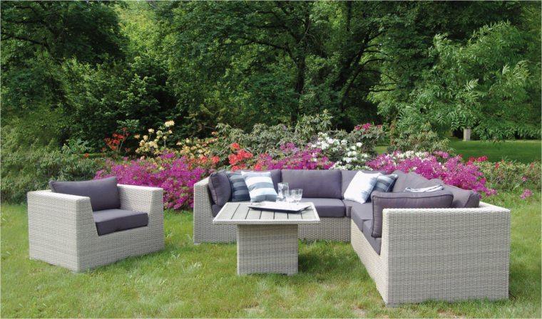 Salon de jardin tresse de luxe - Mailleraye.fr jardin