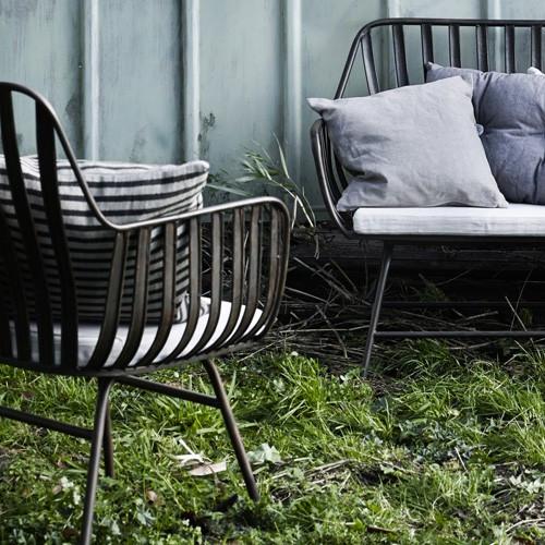 Salon de jardin metal noir - Mailleraye.fr jardin