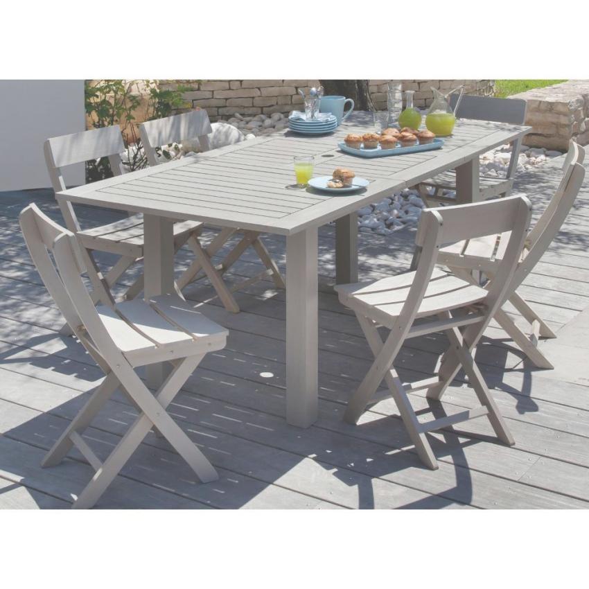Table de salon de jardin niagara - Mailleraye.fr jardin