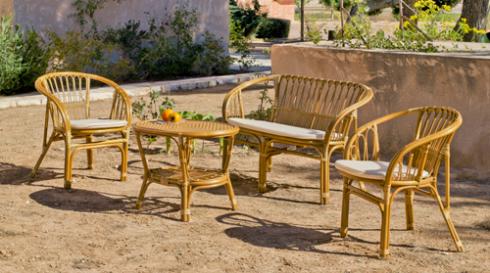 Salon de jardin en rotin occasion - Mailleraye.fr jardin