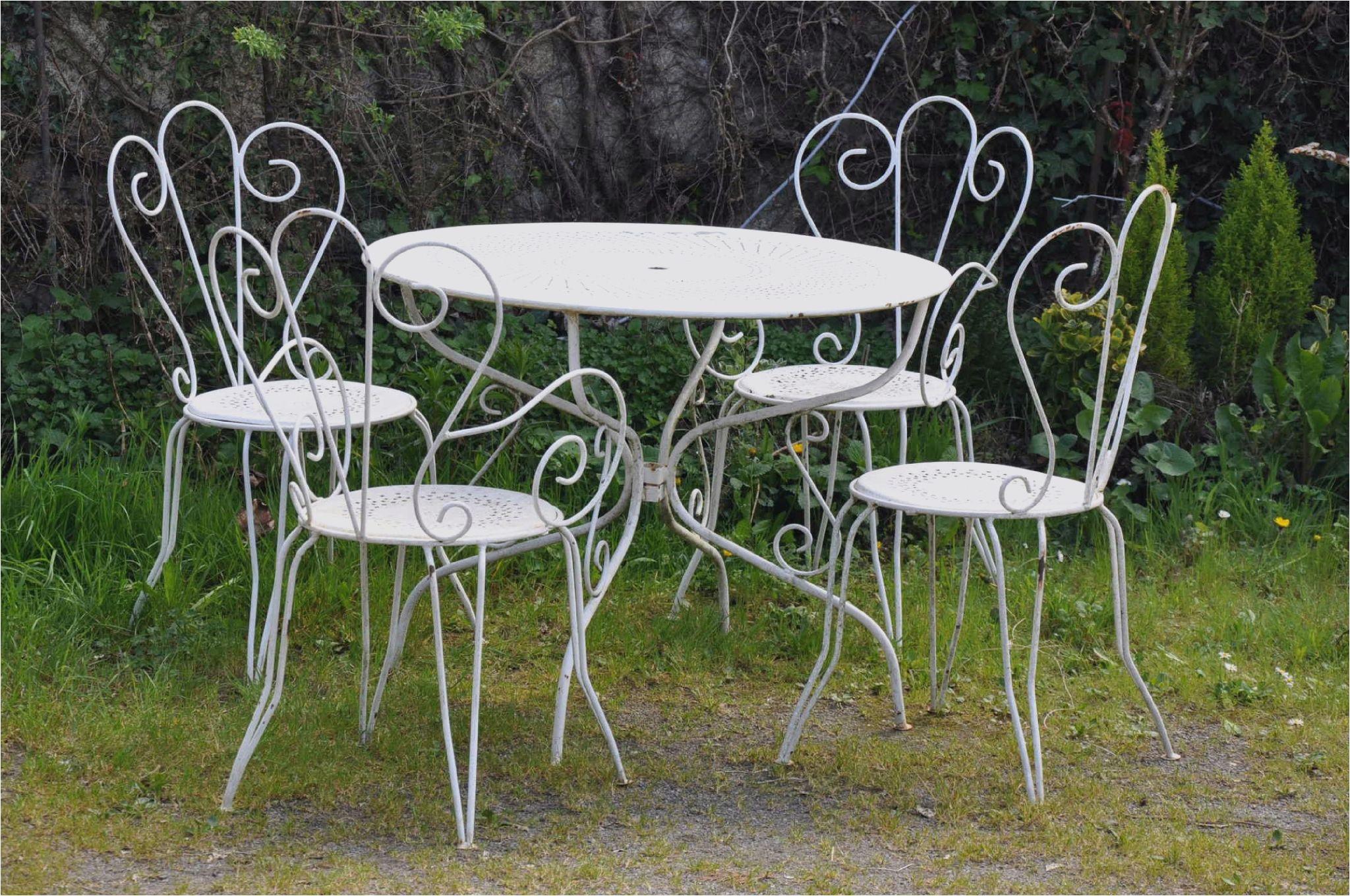 Table salon de jardin occasion