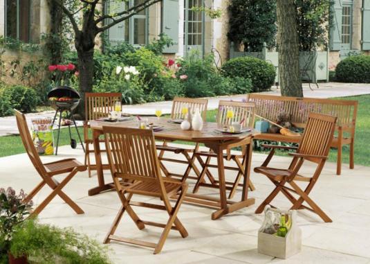 Best Salon De Jardin En Teck Bricomarche Images - House Design ...