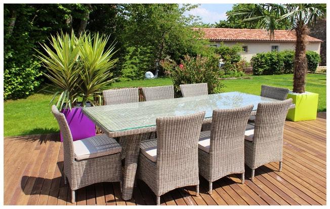 Decapage salon de jardin pvc - Mailleraye.fr jardin