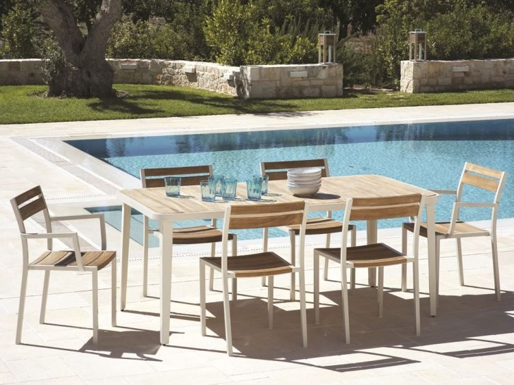 Salon de jardin moderne en solde - Mailleraye.fr jardin