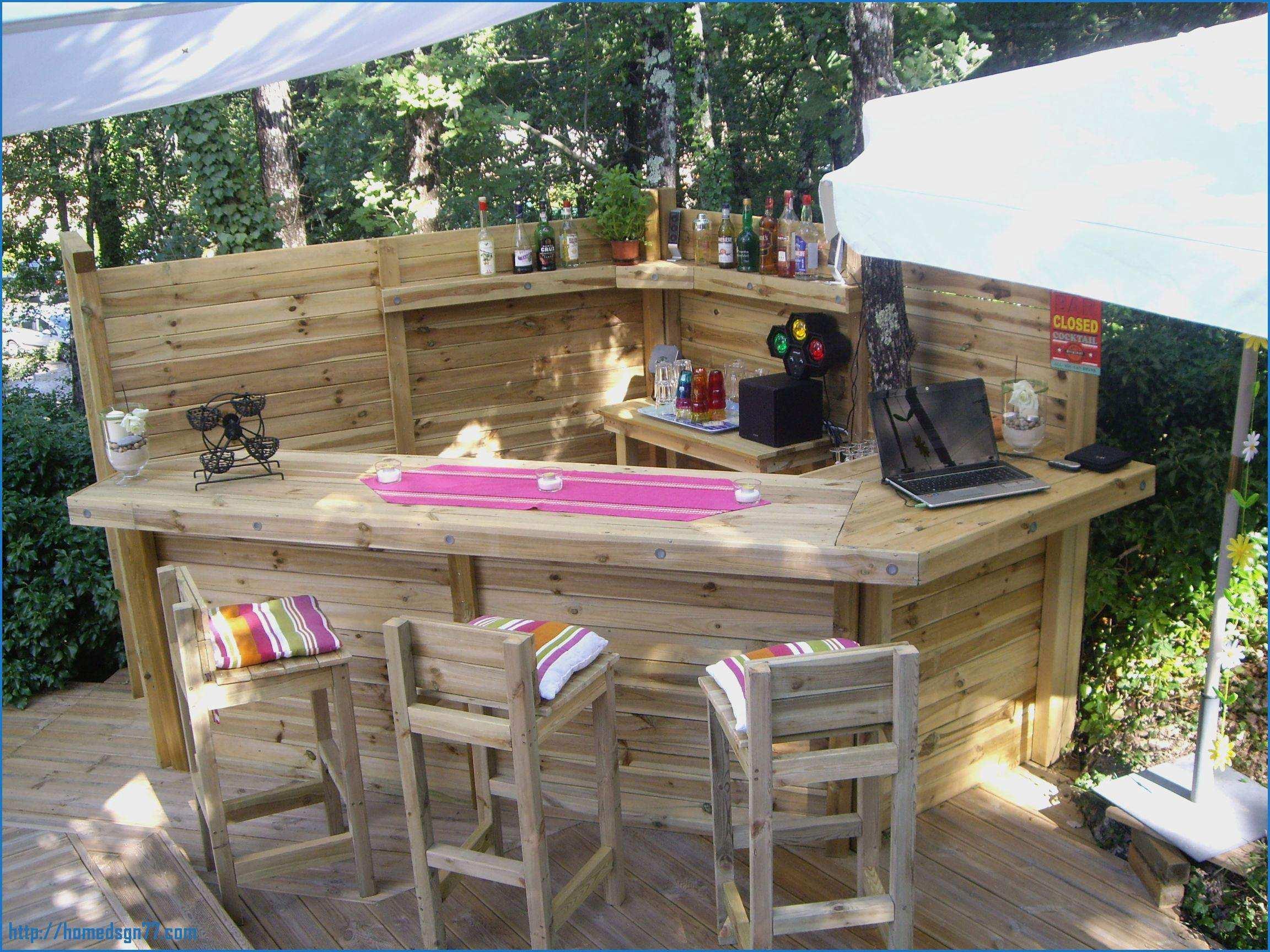 Salon de jardin bar exterieur - Mailleraye.fr jardin