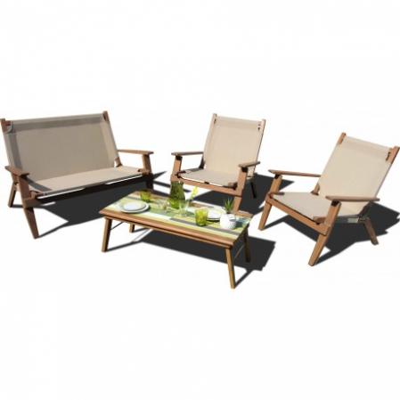 Chaise de salon de jardin pliable