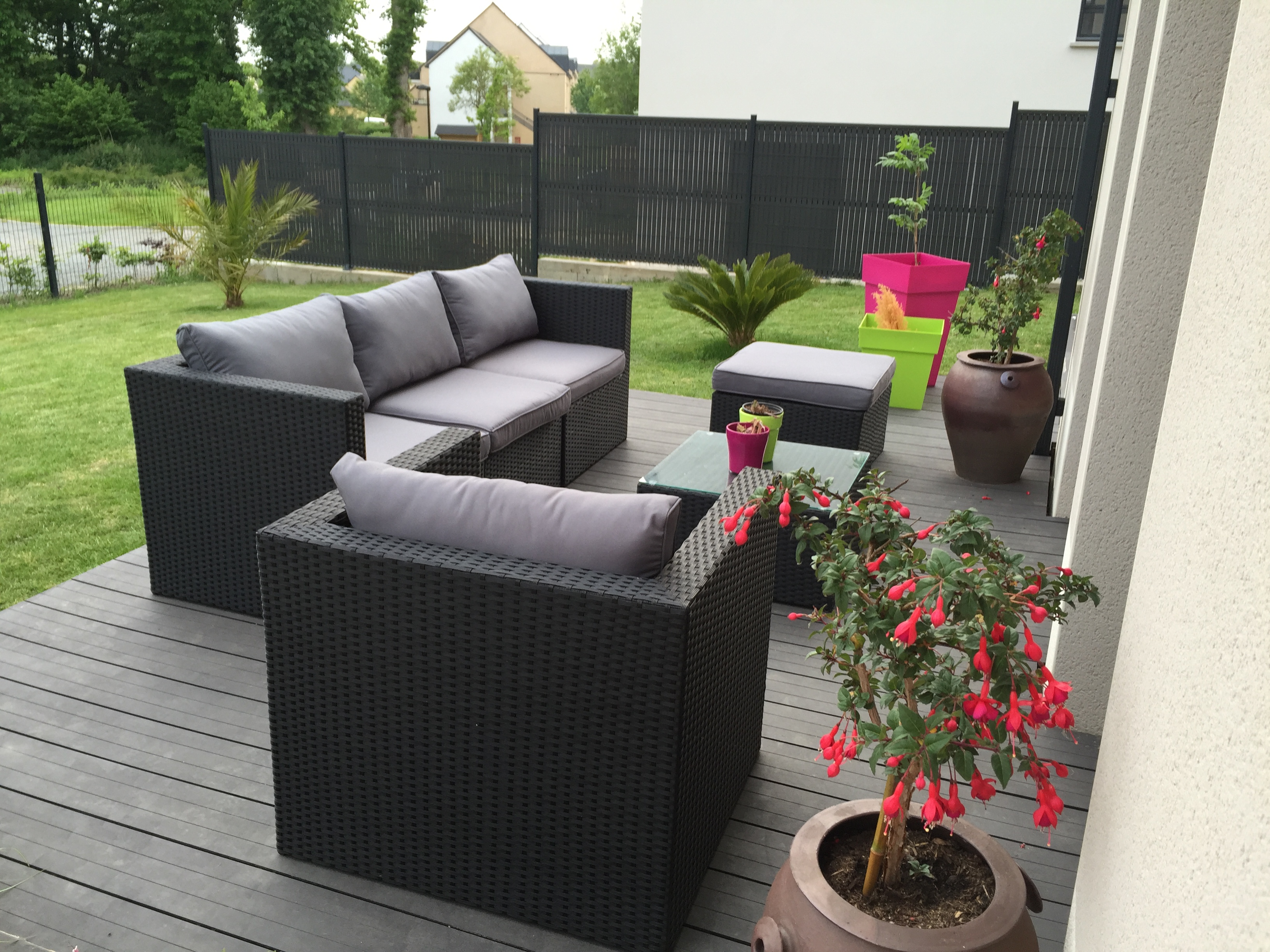 Salon de jardin sortie usine - Mailleraye.fr jardin