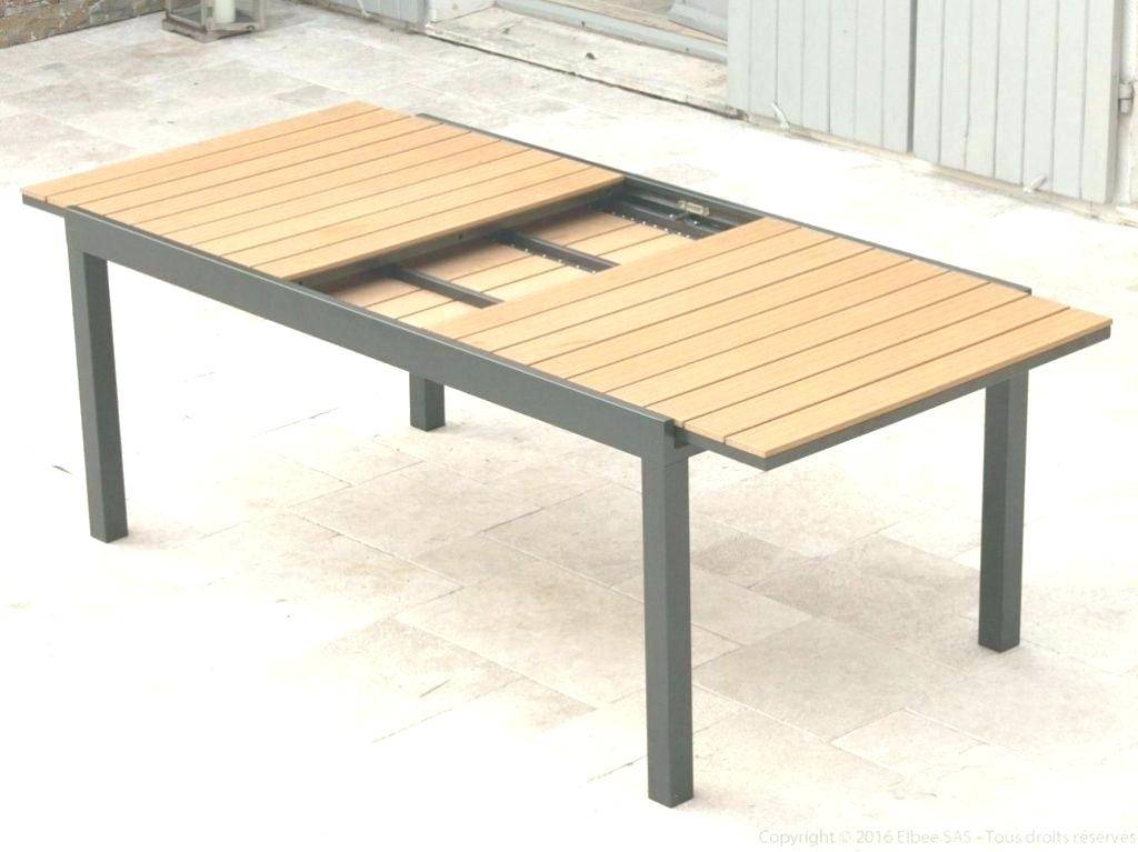 Salon de jardin table extensible aluminium - Mailleraye.fr ...