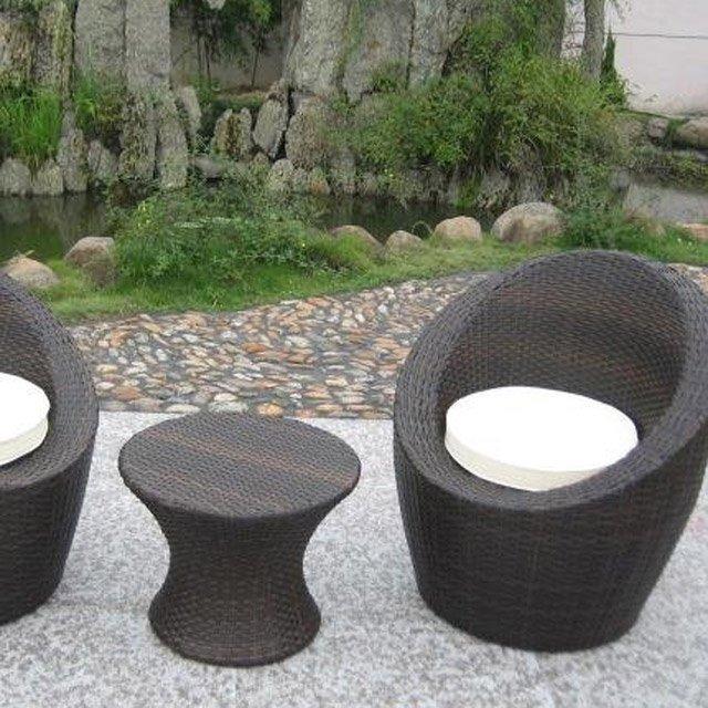 Salon de jardin totem noir - Mailleraye.fr jardin