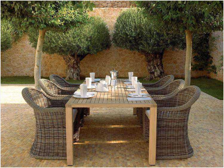 Salon de jardin teck unopiu - Mailleraye.fr jardin