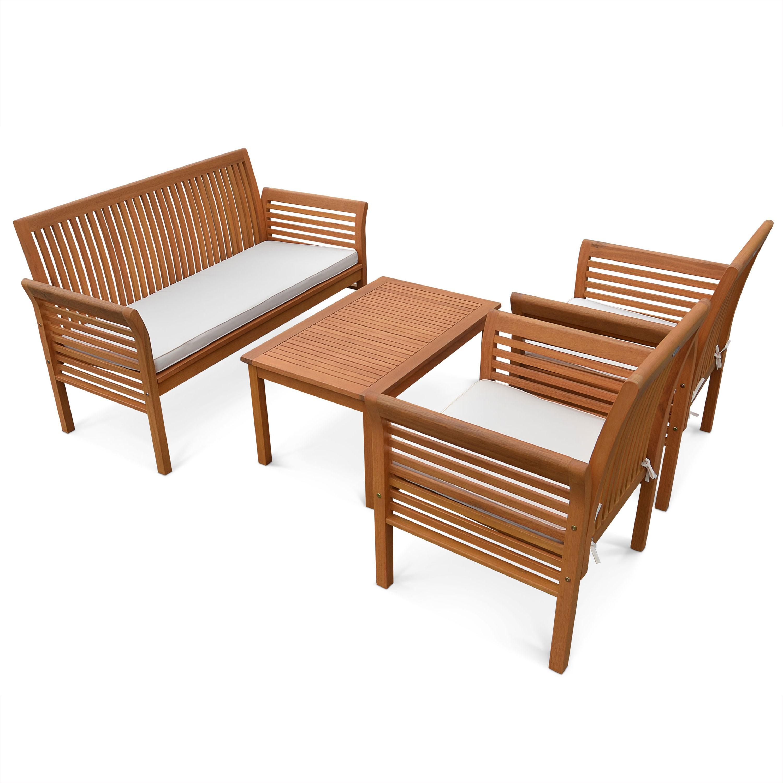 Salon de jardin en bois conforama - Mailleraye.fr jardin