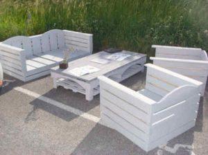 Tuto fabrication salon de jardin palette - Mailleraye.fr jardin