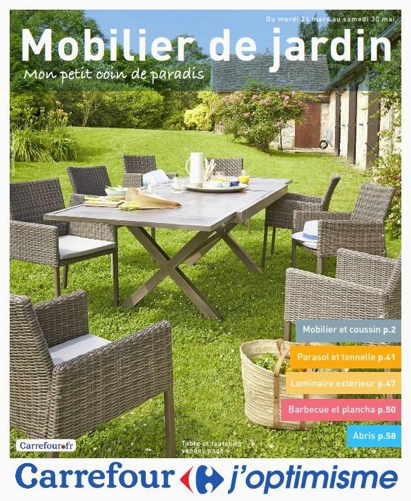 Mobilier de jardin chez hyper u - Mailleraye.fr jardin