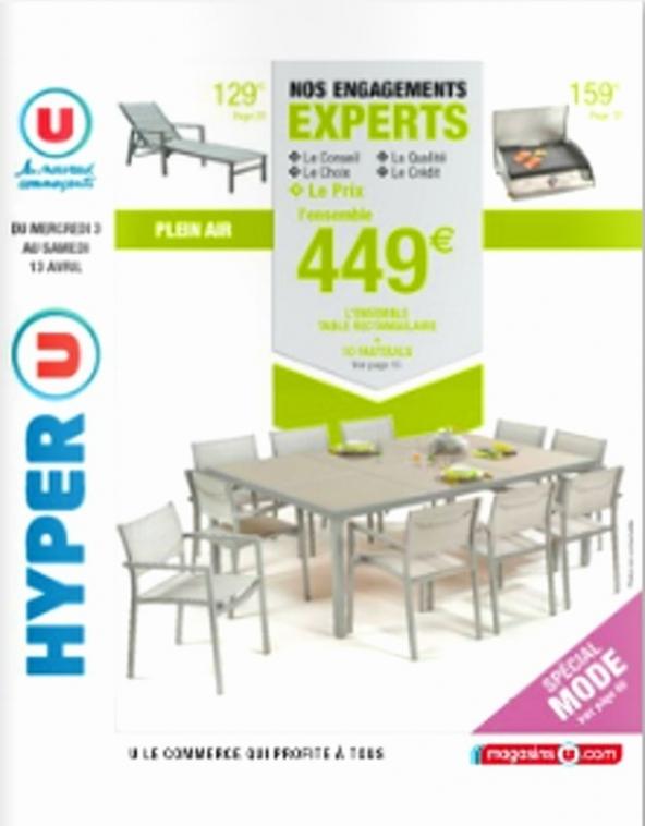 Table de salon de jardin super u - Mailleraye.fr jardin