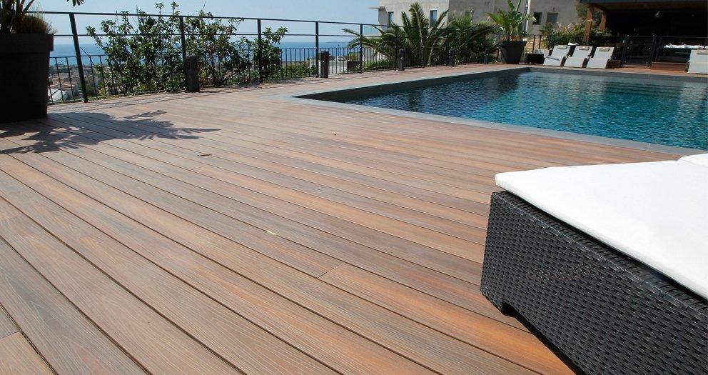 Terrasse bois composite ile de france