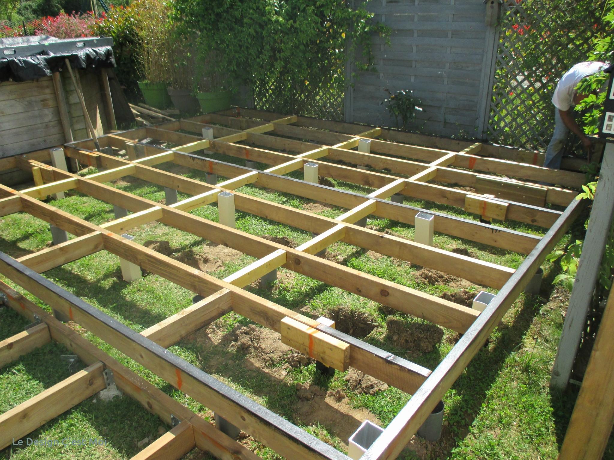 Terrasse piscine bois composite leroy merlin