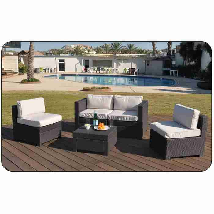 monaco salon de jardin aspect rotin tress pas cher jardin. Black Bedroom Furniture Sets. Home Design Ideas