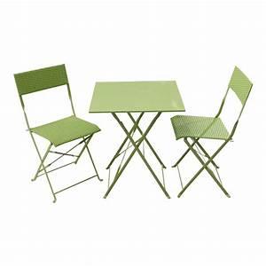 Raviver salon de jardin plastique vert