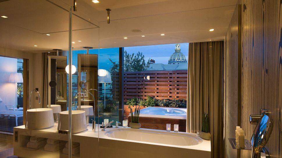 Hotel paris avec terrasse