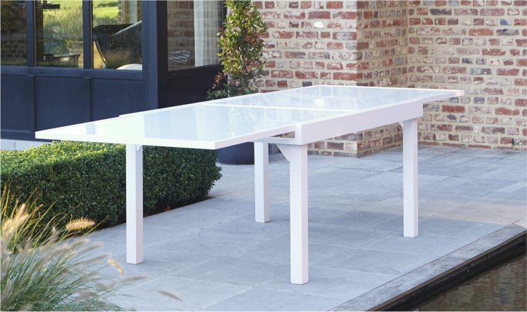 Stunning Table De Jardin Resine Rallonge Images - House ...