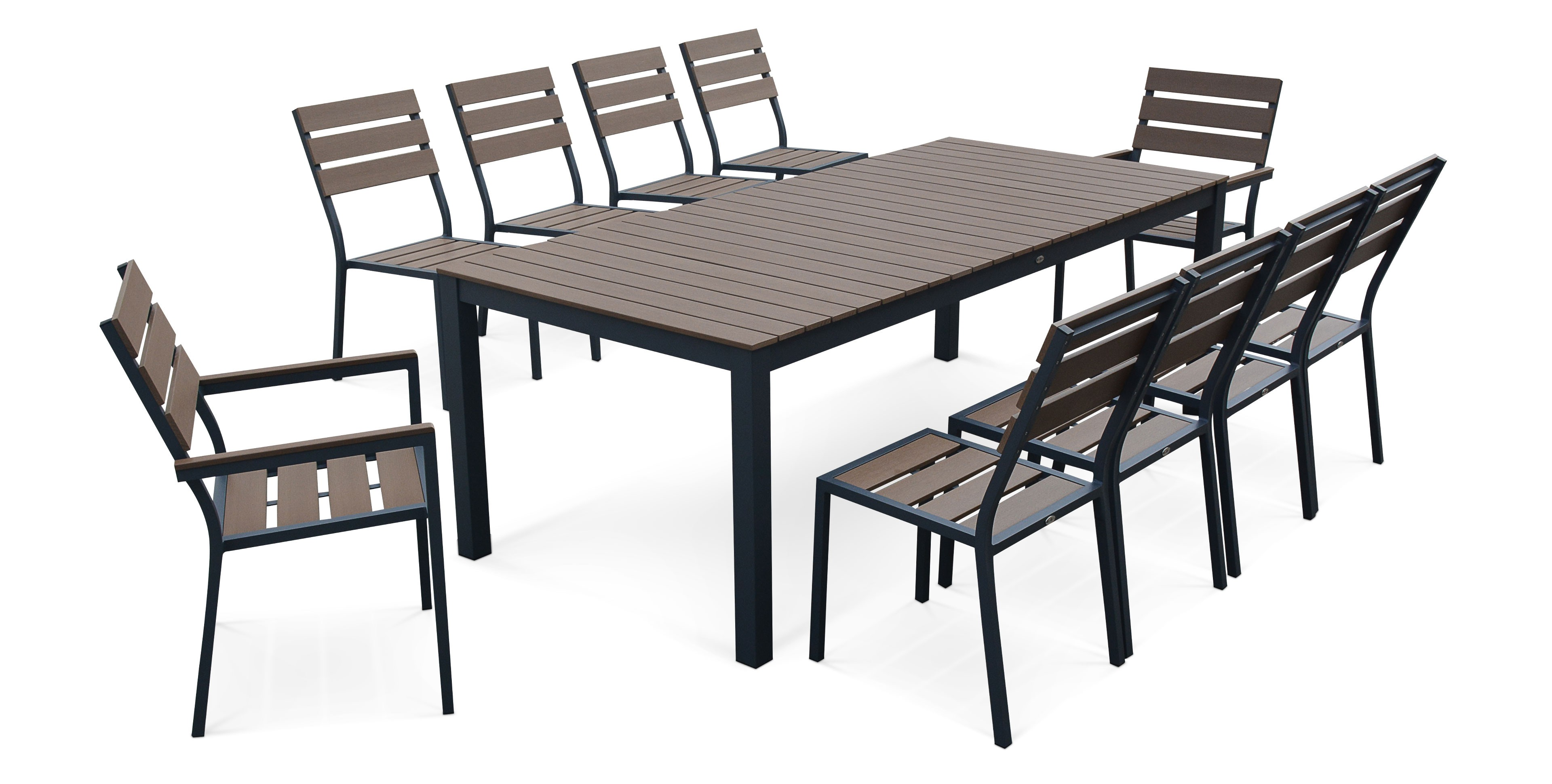 Table et chaises de salon de jardin - Mailleraye.fr jardin