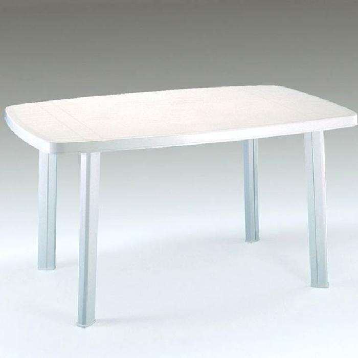 Table de salon de jardin en plastique - Mailleraye.fr jardin