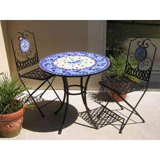 Mobilier de jardin mosaique - Mailleraye.fr jardin