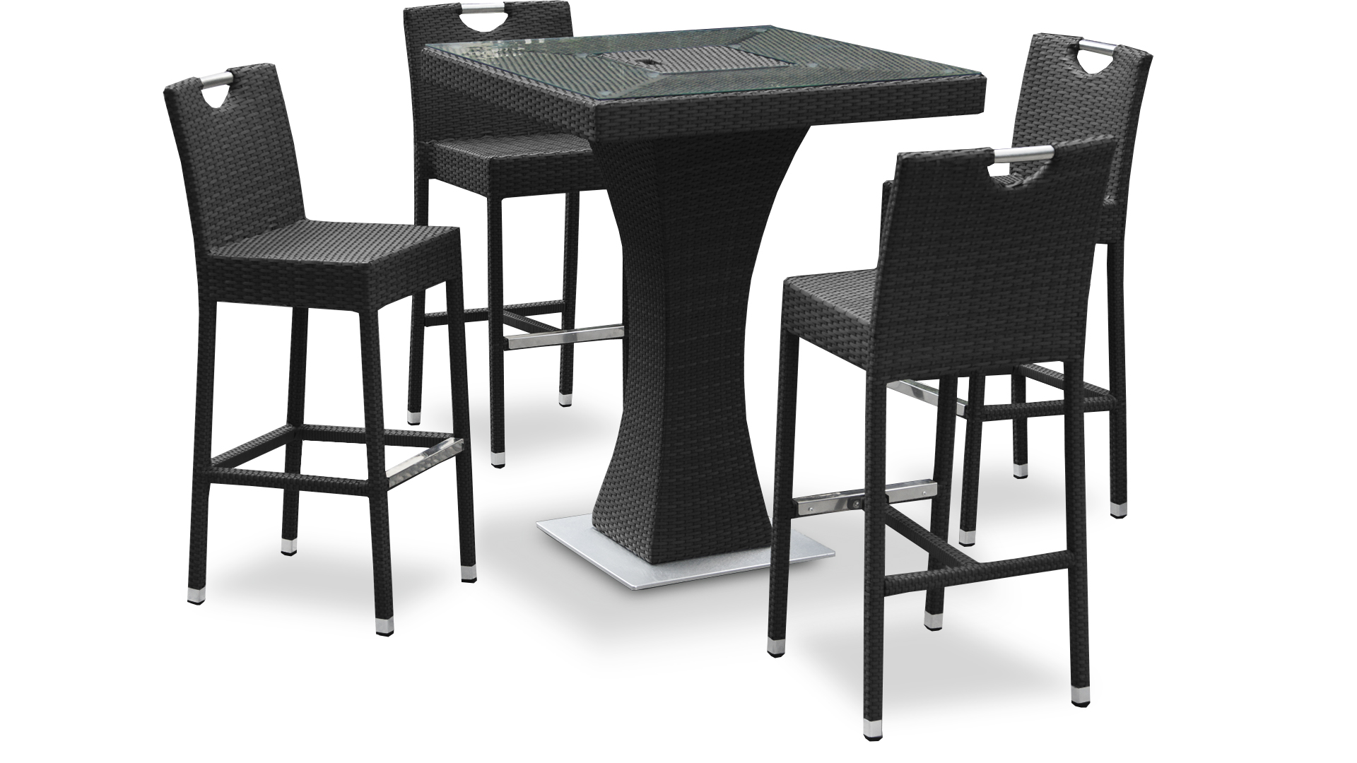 table de salon de jardin haute jardin. Black Bedroom Furniture Sets. Home Design Ideas